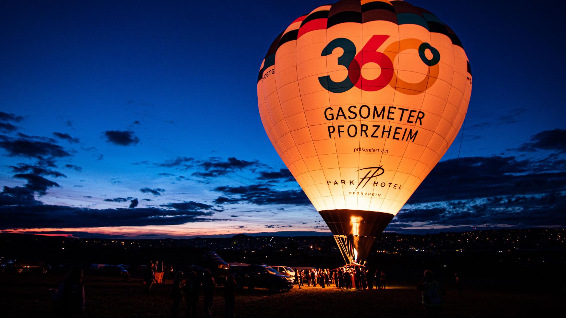Heißluftballon Pforzheim